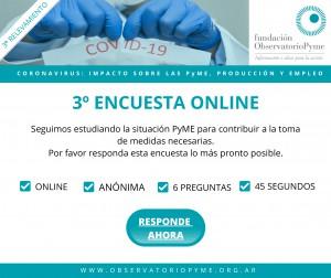 3º Encuesta coronavirus FOP-Difusión