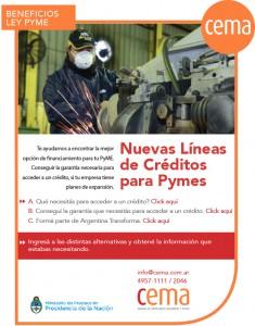 creditos beneficios ley pyme